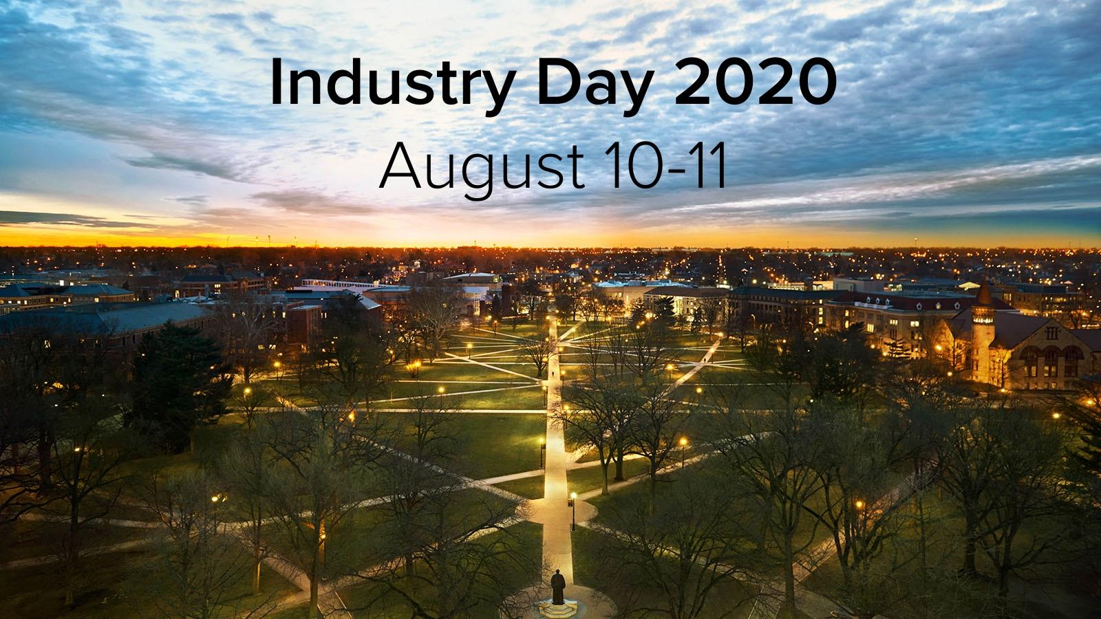Industry Day 2020 August 10-11